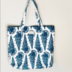Lilly Pulitzer for Estée Lauder Seashell Tote
